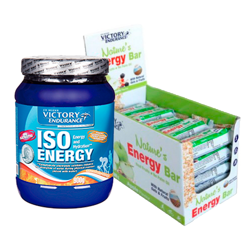 Running & Ciclismo  - Nature's Energy Bar + ISO Energy