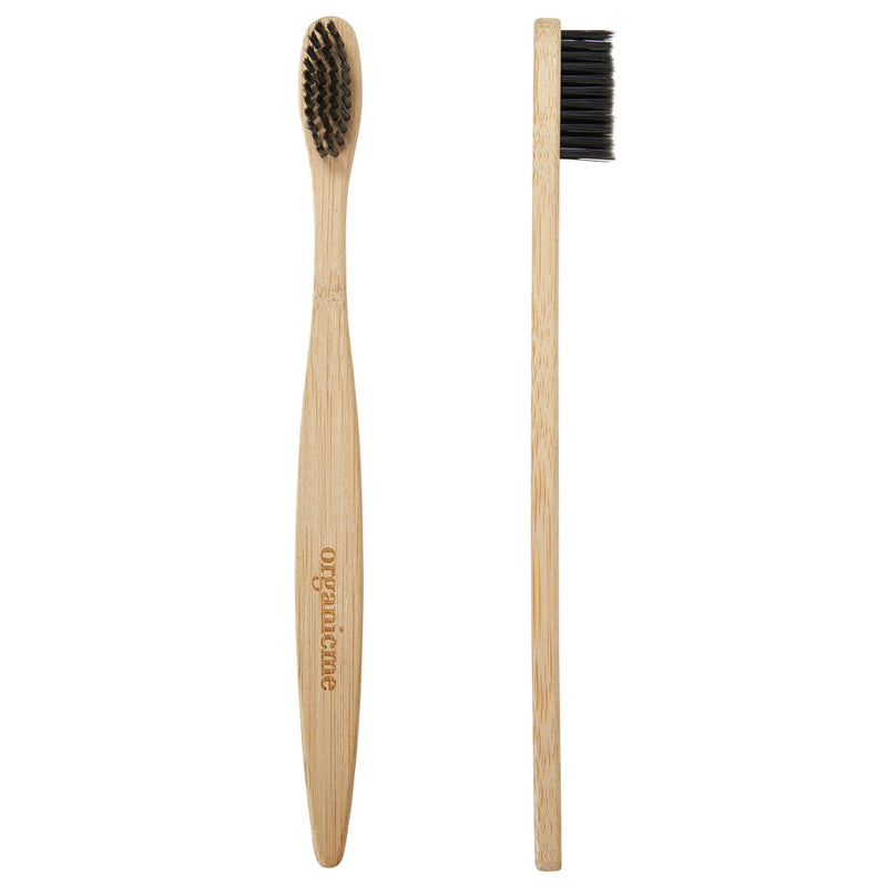 Bamboo Toothbrushes, Soft Bristles (Set of 4)