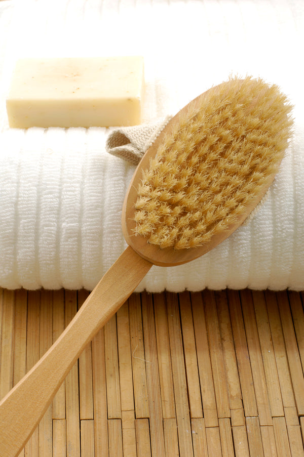 Bamboo Bath Scrubbing Brush