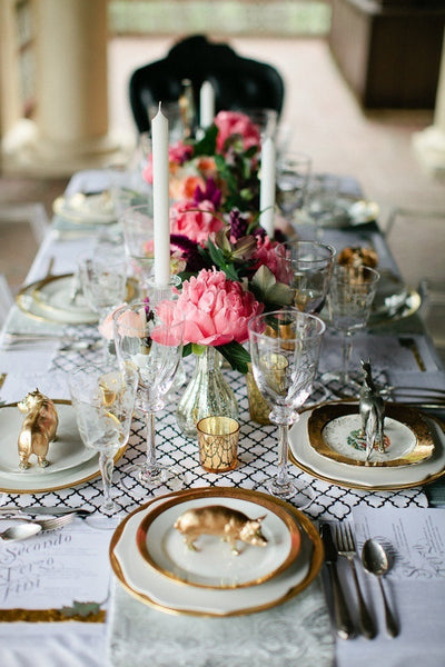 Time to Set the Table - Gorgeous Table Settings for Any Occassion