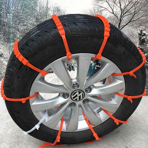 Winter Tyre Chain - Never Skid In Snow 10pcs/lot