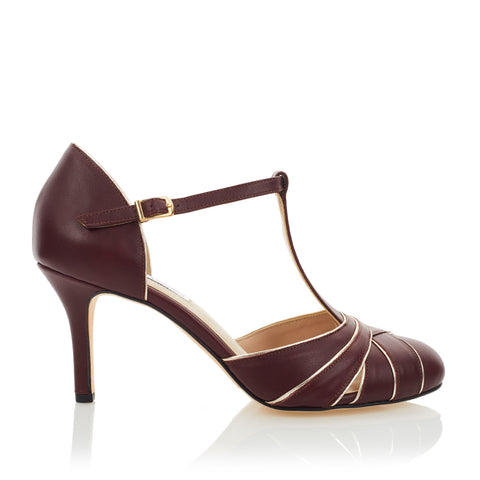 Cabaret Pump - Mulberry