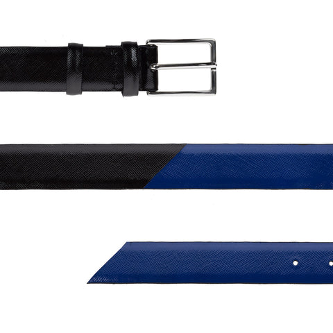 Signature Belt - Royal & Black