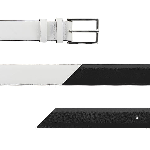Signature Belt - Black & White