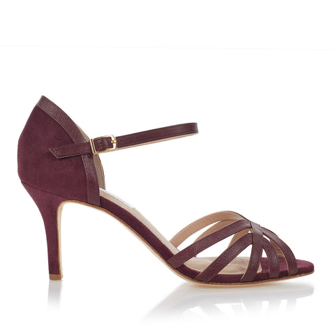 Flow - Mulberry Suede