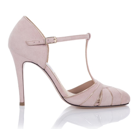 Cabaret Pump - Flamingo Suede