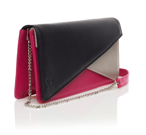 Signature Mini - Black/Fuchsia