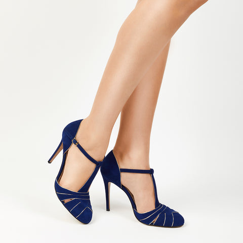 Cabaret Pump - Forest Suede