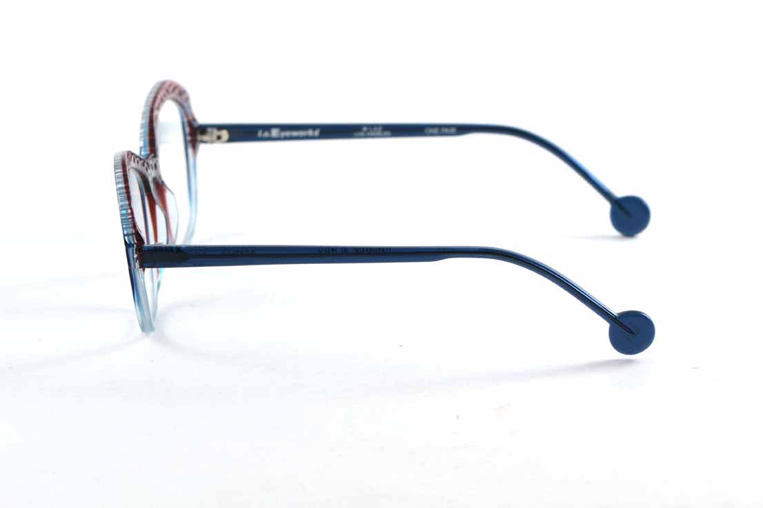 LA Eyeworks OCOTILLO 245 BERRY BLUE