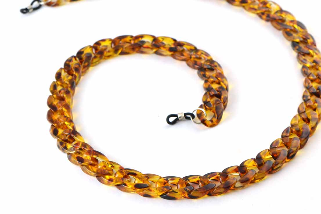 Brilketting amber