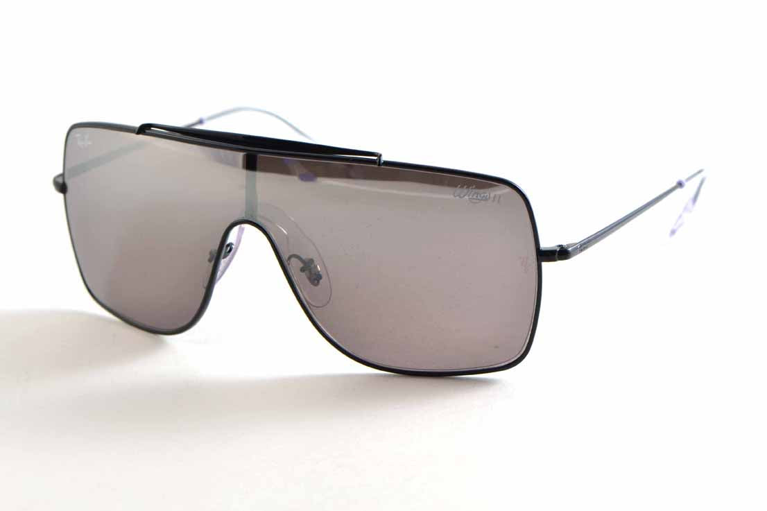 Ray Ban Wings II Dark Violet Mirror Silver 3697 9168Y3 35