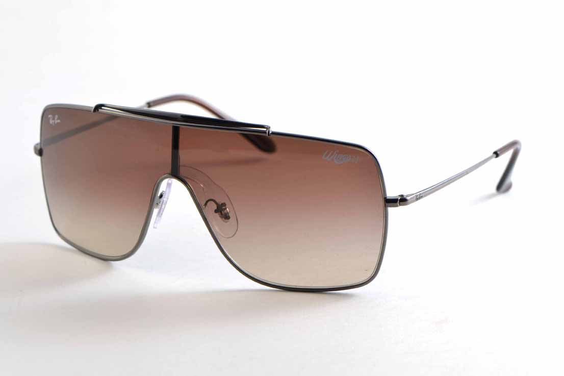 Ray Ban Wings II  3697 004/13 35 brown gradient