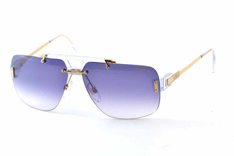 Cazal 887 015 62-12 VINTAGE GOLD PLATED