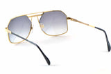 Cazal 959 302 59-18 GOLD PLATED
