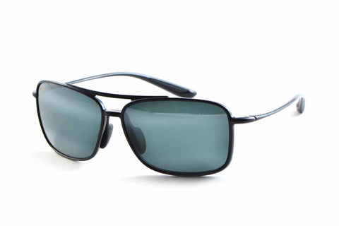 Maui Jim KAUPO GAP 437-02 BLACK GLOSS