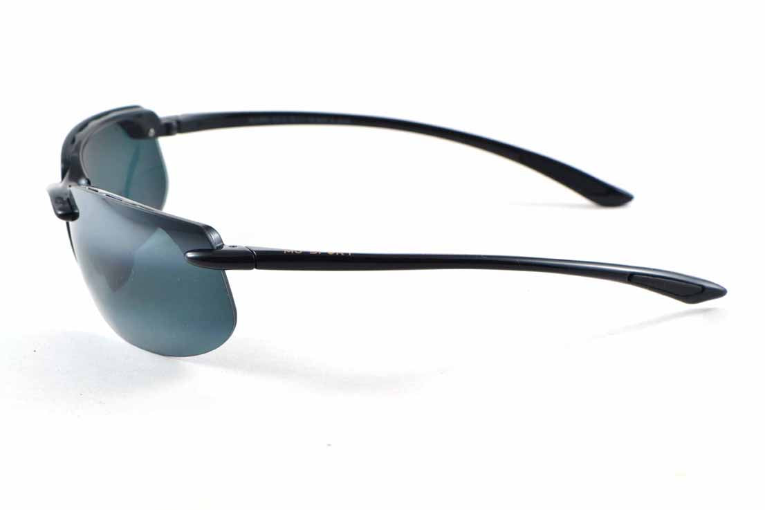 Maui Jim BANYANS 412-02 NEUTRE NOIR BRILLANT