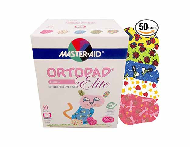 Ortopad oogpleister Cotton Girls Regular