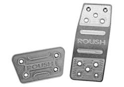 Roush billet pedal set automatic for Mustang S197 2005-2009