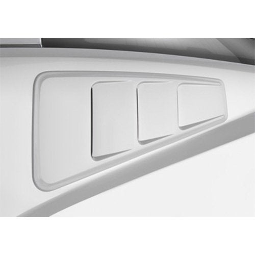 Roush quarter window louvres for Mustang S197 2010-2014