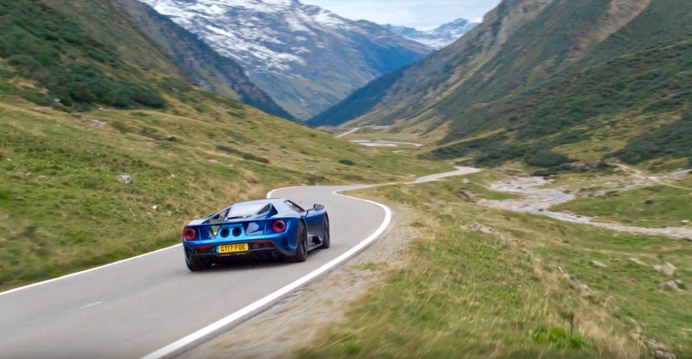 Deposit for Ford GT Luxury Scottish Highland Tour 2021