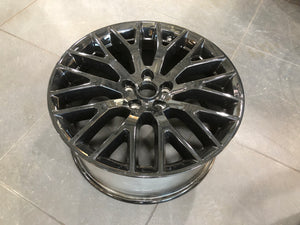 USED PART - Standard Black front wheel for 5.0 Mustang 2015+
