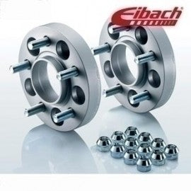 Eibach 25mm wheel spacers for Mustang 2015-2017 - Silver