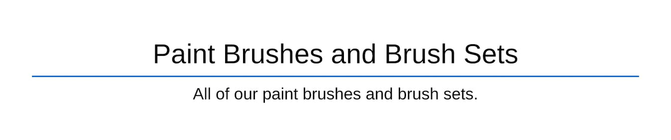 Paint Brushes & Brush Sets
