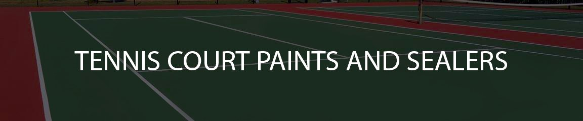 Tennis court paints and sealers collection image
