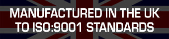 Made in UK iso9001 banner