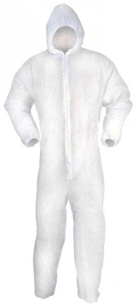 Blackrock - Coverall Suit - Disposable Painters and Decorators Coveralls - Large