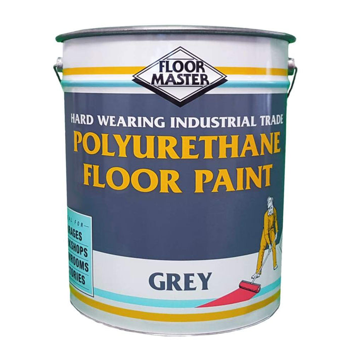 Floormaster - Heavy Duty Polyurethane Floor / Concrete Paint - Available in 5 & 20 Litre - PremiumPaints