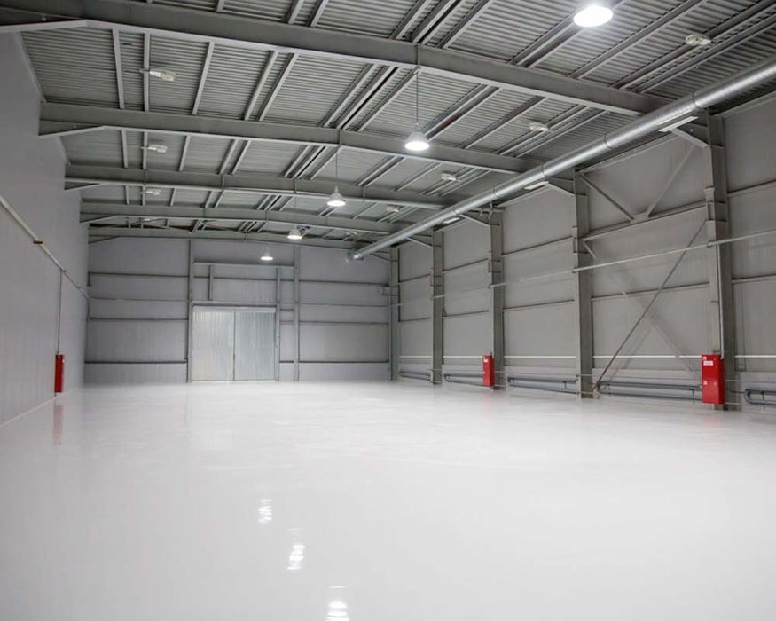 Everest Trade - High Build Industrial Grade Concrete Floor Paint - PU Resin Based- Anti-Slip - PremiumPaints