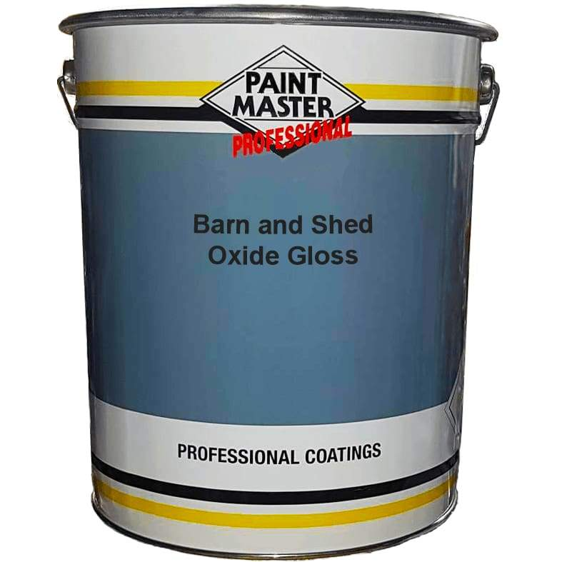 Paintmaster - Agricultural Barn Paint Oxide Gloss - Heavy Duty - Multiple Sizes - PremiumPaints