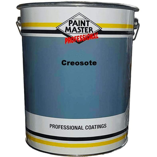 Paintmaster - Heavy Duty Shed & Fence Creosote Paint - Dark Brown - 20 Litre - PremiumPaints