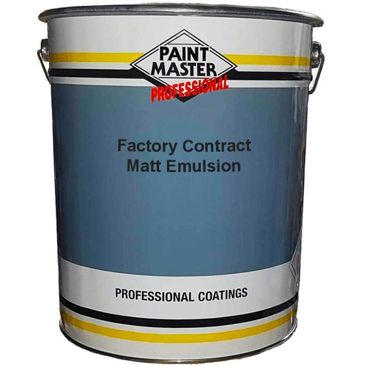Paintmaster - Interior Contract Factory Emulsion - Matt Finish - 20 Litre - PremiumPaints