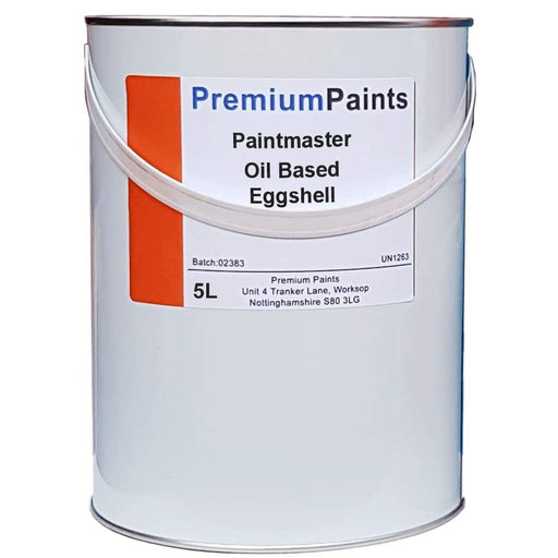 Paintmaster - Oil Based Eggshell Paint - Heavy Duty - For Wood and Metal - Multiple Sizes - PremiumPaints