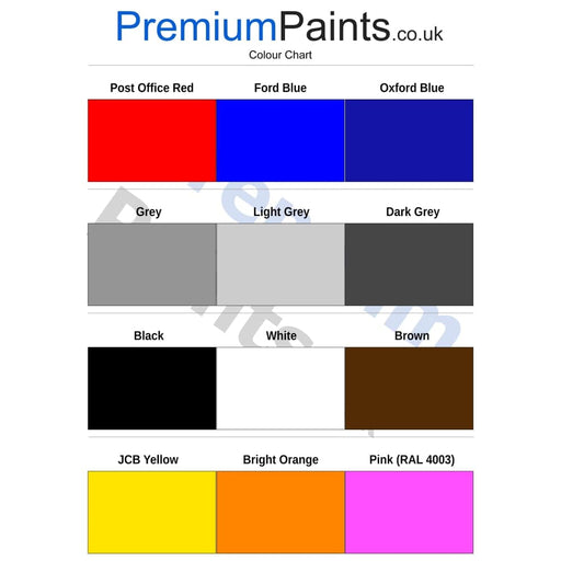 Paintmaster - Oil Based Oxide Gloss - Heavy Duty - Machine Enamel - Multiple Sizes - PremiumPaints