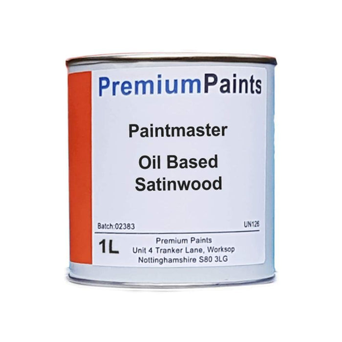 Paintmaster - Oil Based Satinwood Paint - Heavy Duty - White and Magnolia - Multiple Sizes - PremiumPaints
