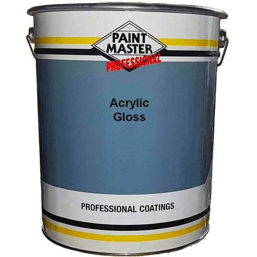 Paintmaster - Quick Drying Acrylic Gloss Paint - Multiple Sizes - PremiumPaints