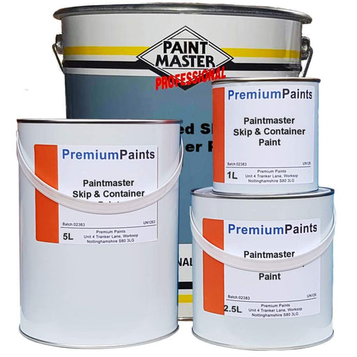 Paintmaster - Skip and Container Paint - Machine Enamel - Oxide Gloss - Multi Sizes - PremiumPaints