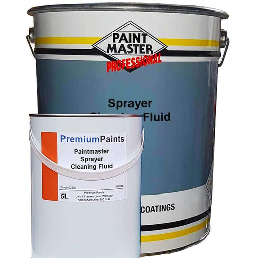 Sprayer Cleaning Fluid (20 Litre and 5 Litre Variants) - PremiumPaints