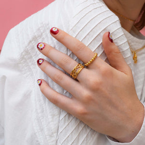 Mood Good Jewellery - Smiles All Around Ring