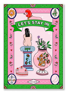 Poppy Almond Print - Let's Stay In