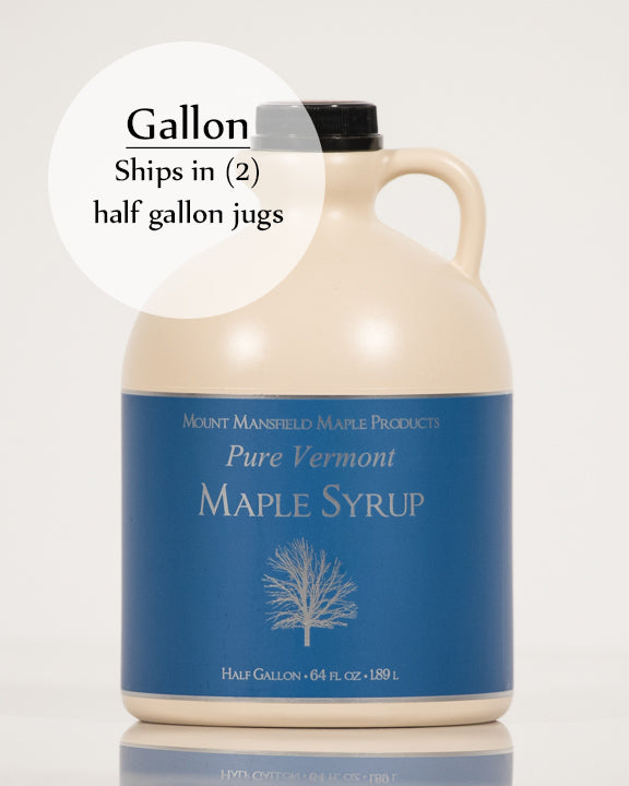 Conventional Gallon Plastic Jug Pure Vermont Maple Syrup