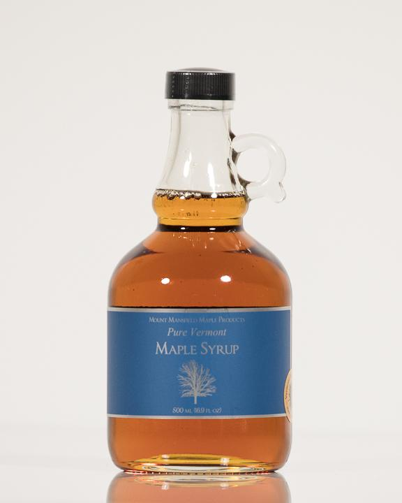 Conventional 500ml Glass Bottle Pure Vermont Maple Syrup