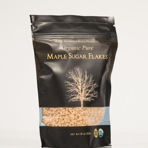 Organic Maple Sugar Flakes