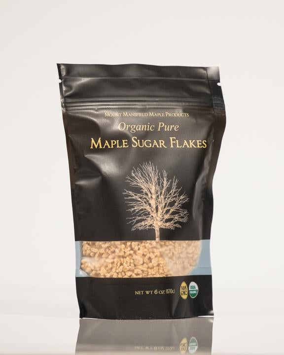 Organic 6oz Bag Pure Maple Flakes