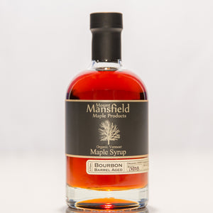 Organic Bourbon Barrel Aged Vermont Maple Syrup 375ml