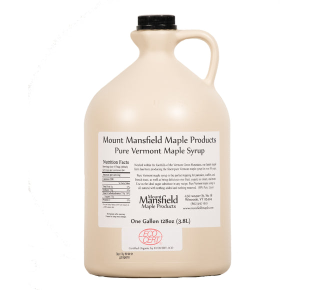 Conventional Pure Vermont Maple Syrup- Bulk Gallon 1