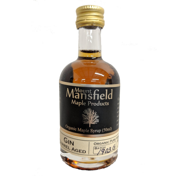 Organic Gin Barrel Aged Maple Syrup 50ml 1